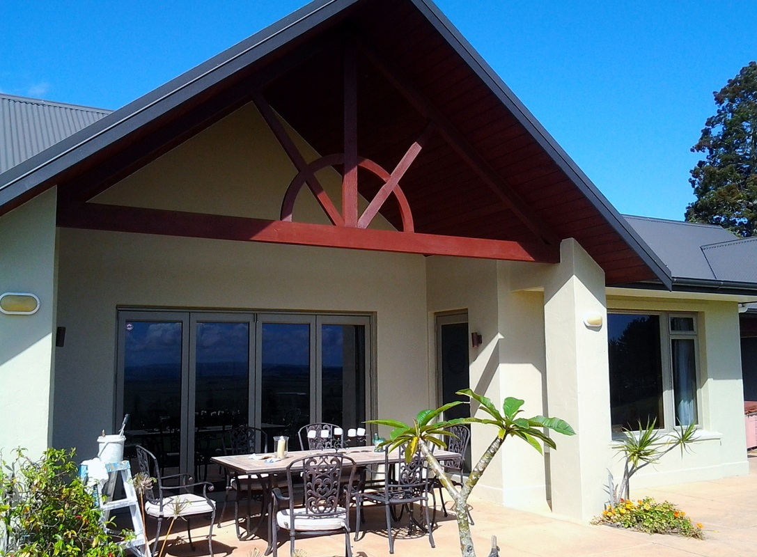 Exterior painting gallery whangarei house painter wallpaper hanging rick anderson painter - Exterior house paintings gallery ...